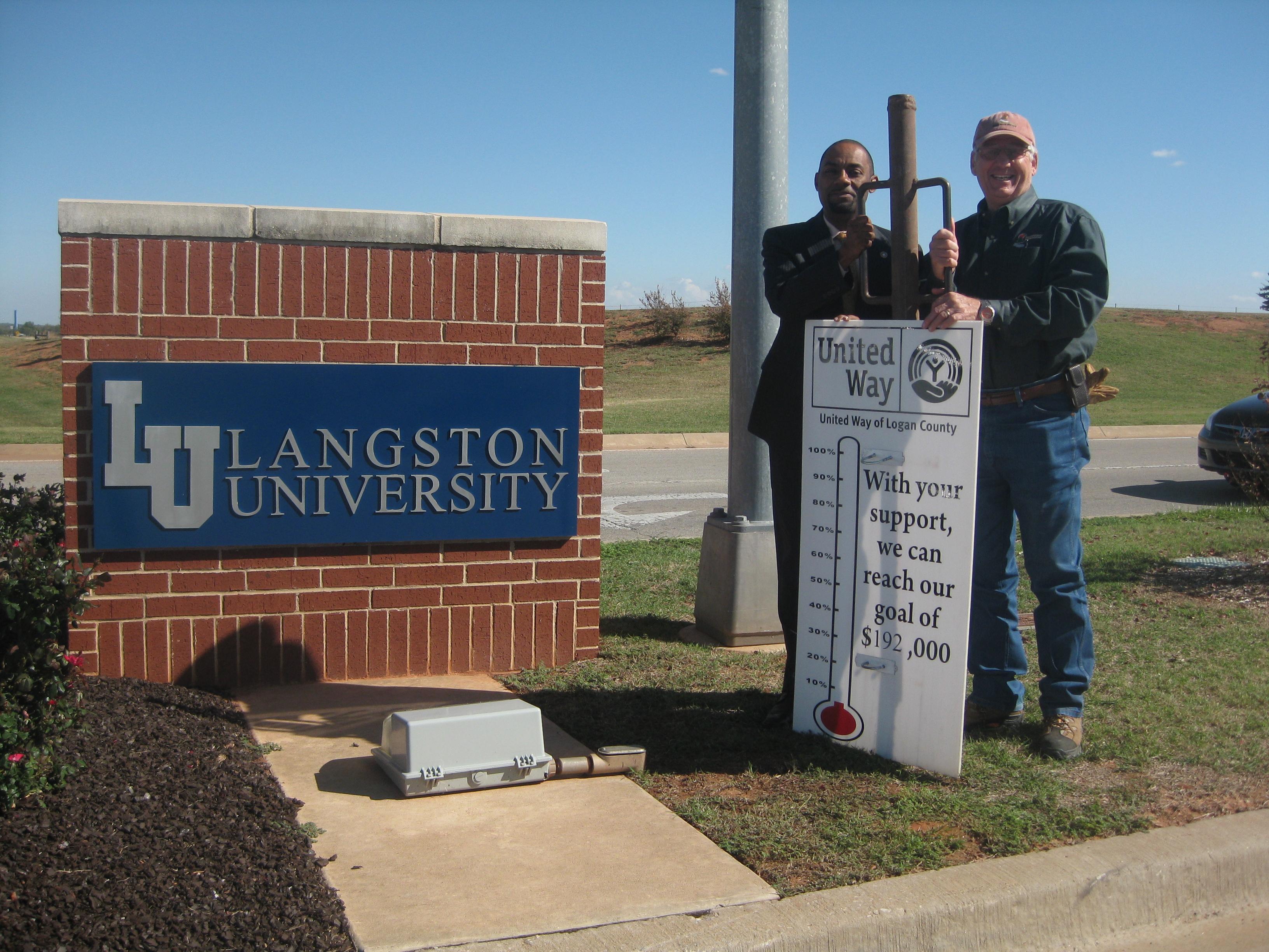 Langston University Kicks Off Its United Way Campaign Guthrie News