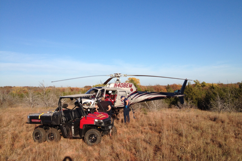 Game Warden Falls From Tree Stand Airlifted To Ou Medical