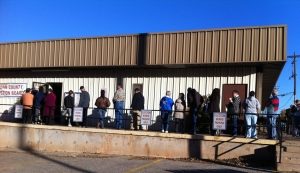Voters will be hitting the polls across Logan County in March for city goverenment positions. Photo By Chris Evans