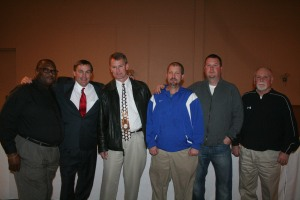 WIllie Young, Jon Chappell, Buddy Canning, Casey Porter, Casey Porter and Tom Haynes.