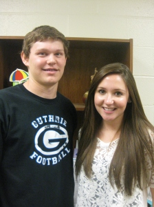Cody Reihs and Katy Anderson, Guthrie High School Seniors, talk about their experiences at Boys State and Girls State.