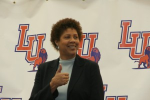 Cheryl Miller is the new head coach at Langston University.