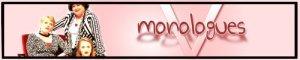 V. Monologues Banner