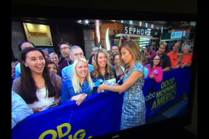 Sisters TIffany Ingram and Kelly Hirzel made an appearance on Good Morning America.