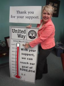 "Sereniah Breland, United Way Campaign Chairwoman, reflects that the campaign is just ""inches"" from the goal.  Help bring us over the top!"