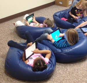 Students at Cotteral Elementary enjoy their time in the iPaid Center.