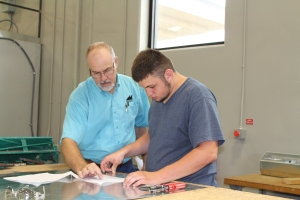 Kyle Boyster of Guthrie is one of nearly 230 students who will be recognized for completing career and technical training at Meridian Technology Center during the school's upcoming graduation ceremony. Graduation will be held May 21 at the Seretean Center Concert Hall at OSU.